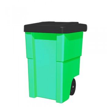 Контейнер пластиковый для мусора 240 литров